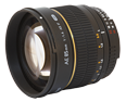 Samyang 85mm f/1.4 Aspherique IF Nikon