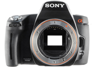 Sony Alpha 290 with no lenses
