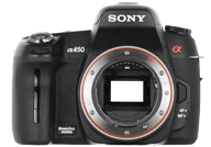 Sony Alpha 450 with no lenses