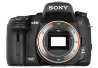 Sony Alpha 580 with no lenses