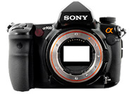 Sony Alpha 900 with no lenses