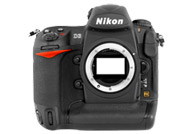 Nikon D3 with no lenses