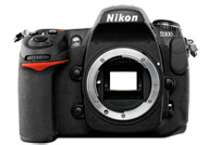 Nikon D300 with no lenses