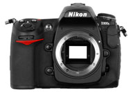 Nikon D300s with no lenses