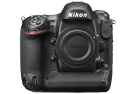 Nikon D4 with no lenses