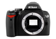 Nikon D60 with no lenses