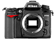 Nikon D7000 with no lenses