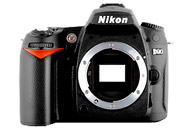Nikon D90 with no lenses