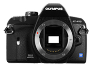 Olympus E410 with no lenses