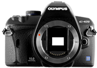 Olympus E420 with no lenses