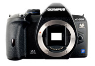 Olympus E520 with no lenses