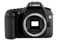 Canon EOS 30D with no lenses