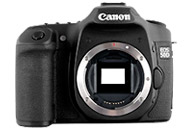 Canon EOS 50D with no lenses