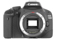 Canon EOS Rebel T2i, EOS 550D or Kiss X4 with no lenses
