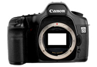 Canon EOS 5D with no lenses