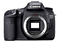 Canon EOS 7D with no lenses