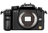 Panasonic Lumix DMC G1 with no lenses
