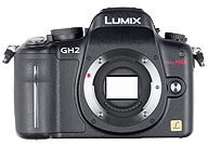 Panasonic Lumix DMC GH2 with no lenses