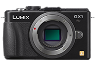 Panasonic Lumix DMC GX1 with no lenses