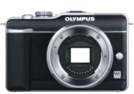 Olympus PEN EPL1 with no lenses