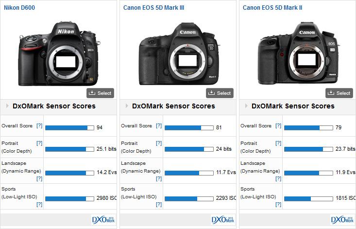 Nikon D600 sets high bar for sensor image quality - DxOMark