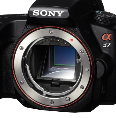 Sony SLT A37 front