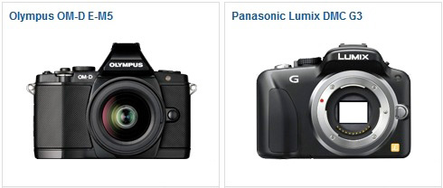 OM-D E-M5 vs Panasonic G3