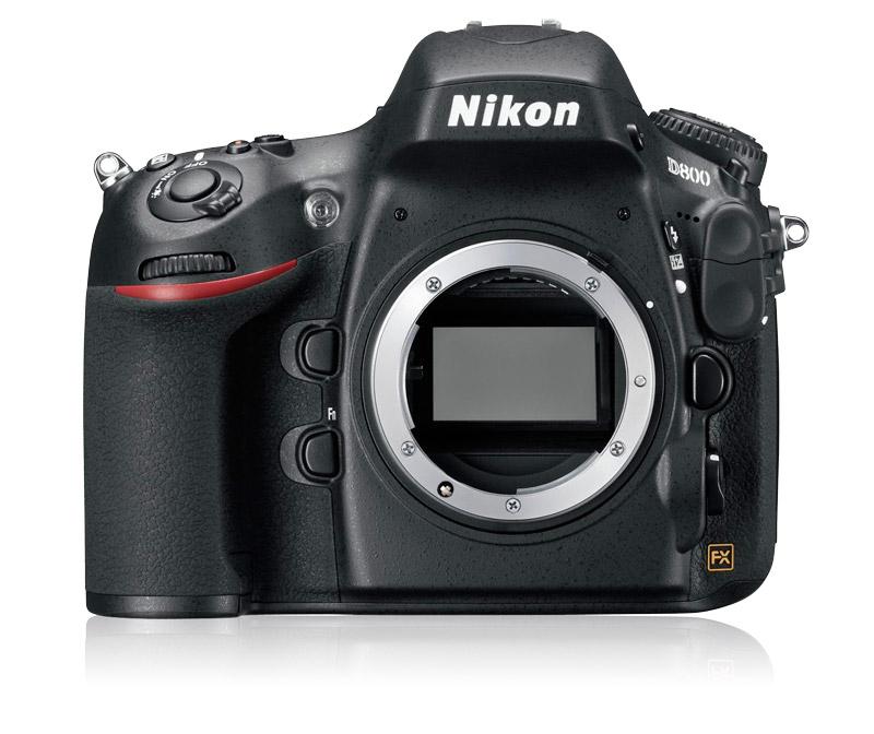 Nikon D800 DSLR Camera (Body)